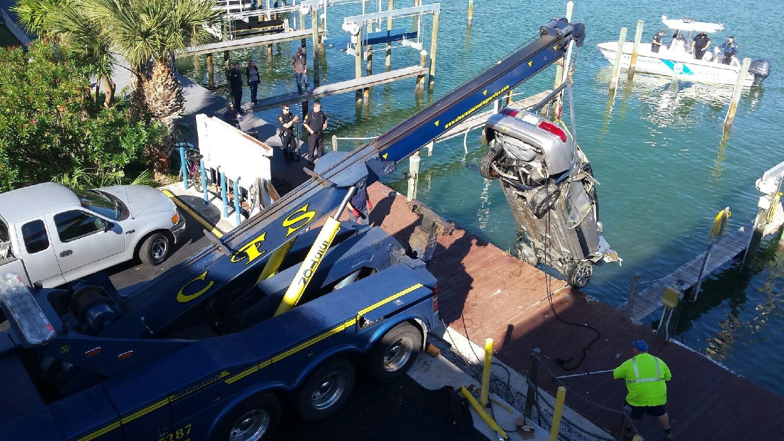 Heavy Water Recovery by CTS Towing