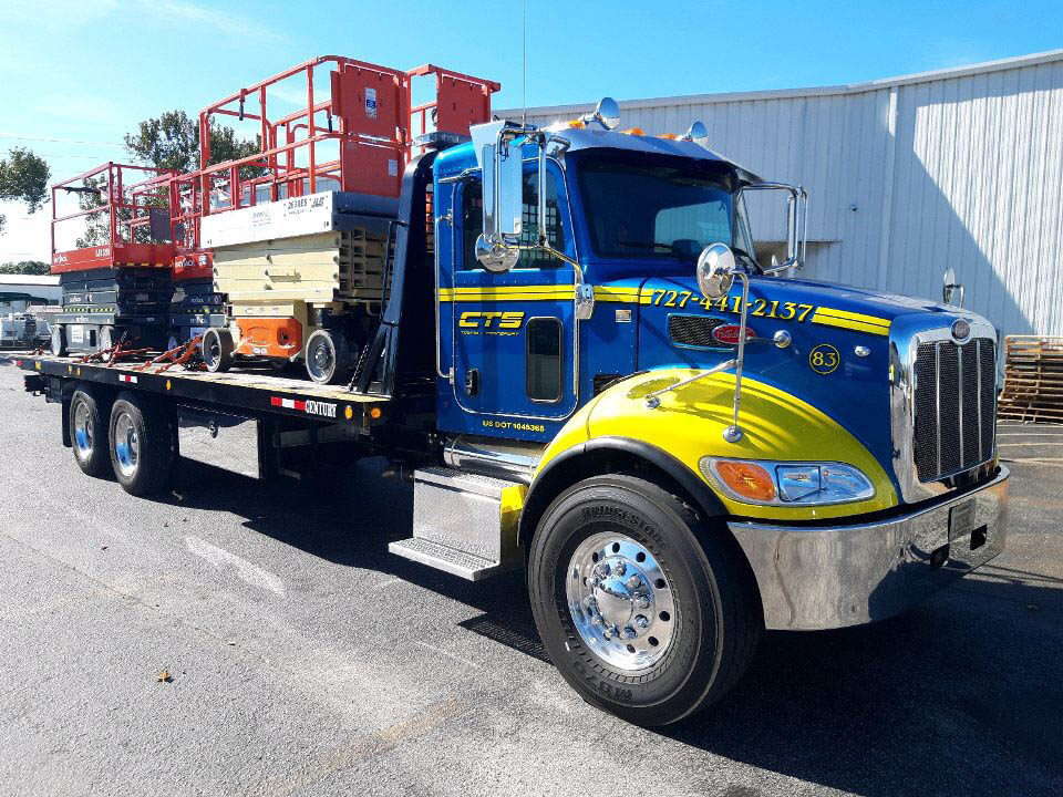 CTS Towing and Transport Multiple Scissor Lifts